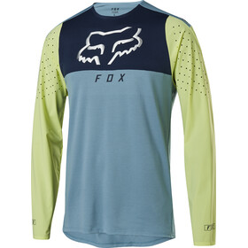 Fox Flexair Delta Longsleeve Jersey Heren, light blue